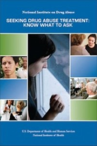 Seeking Drug Treatment? Know What to Ask - NIDA Provides New Resource