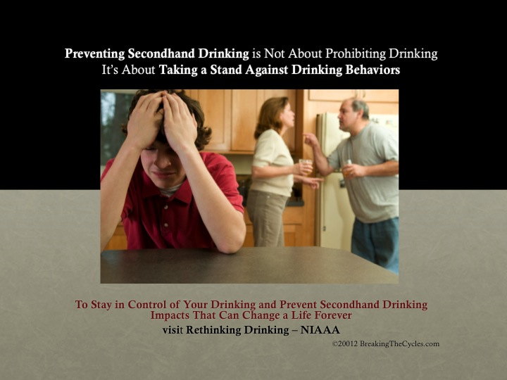 Preventing Secondhand Drinking Is Not About Prohibition