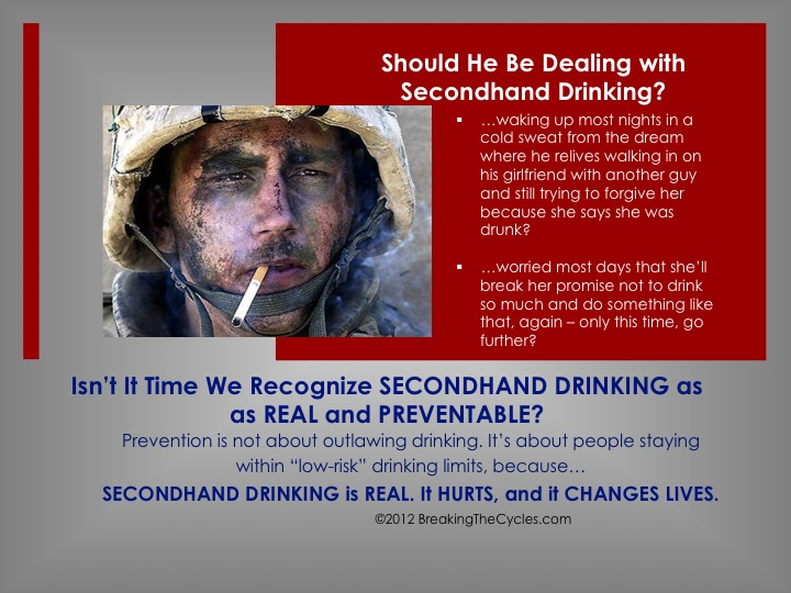 Secondhand Drinking is Not About Prohibition