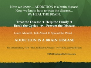 Behind Every Alcoholic or Drug Addict is a Family Member or Two or Three...