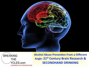 Youth Alcohol Abuse Prevention Programs from a different angle: 21st Century Brain Research and SECONDHAND DRINKING - offers a host of new opportunities!