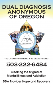 DDA | Dual Diagnosis Anonymous of Oregon, Inc.