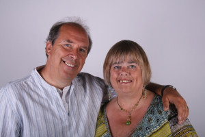 """John and Lou McMahon, founders of Bottled-up.com, and authors of today's guest post, """"Recovery Can Be a Gift."""""""