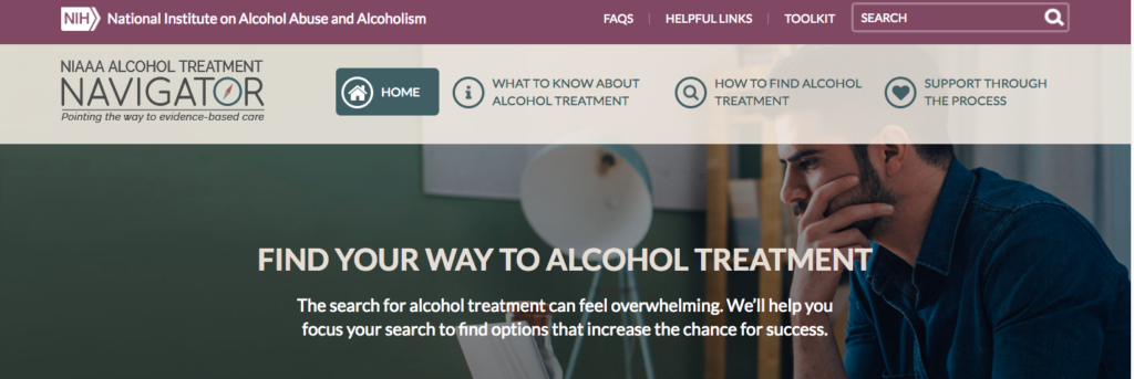Finding Help for a Drinking Problem