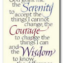 Courage to Change the Things I Can